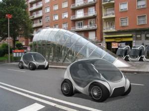 Визуализация на колата Хирико. Снимка: www.hiriko.com