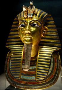 Маската на мумията на Тутанкамон. Снимка: Bjørn Christian Tørrissen