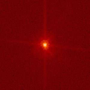 Планетоида Макекаме сниман от телескопа Хъбъл през ноември 2006г. Снимка: Hubble Space Telescope