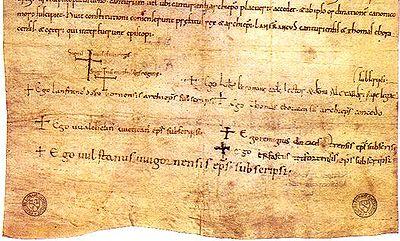 Компютърният алгоритъм анализира използваните думи и изрази в средновековните документи и ги сравнява с контролна група от 10 000 харти, за които се знае точно от кога датират