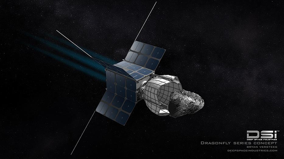 По-рано тази година от Deep Space Industries обявиха своите намерения да извличат суровини от астероиди. Изображение: DSI