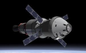 """Художествена концепция за обслужващия модул на """"Орион"""" (кликни за по-голяма версия). Изображение: NASA"""