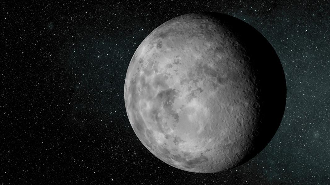 Художествена концепция за планетата Kepler-37b (кликни за по-голяма версия). Изображение: NASA/Ames/JPL-Caltech