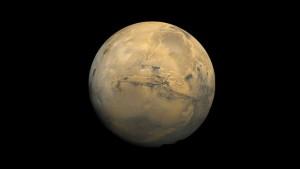 """""""Нито един от четиримата души, които ще бъдат подбрани за пътуването, няма да се върне у дома"""", заяви изпълнителният директор на Mars One. Снимка: Viking Project/NASA"""