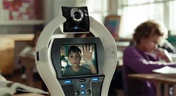 Роботът VGo. Изображение: VGo