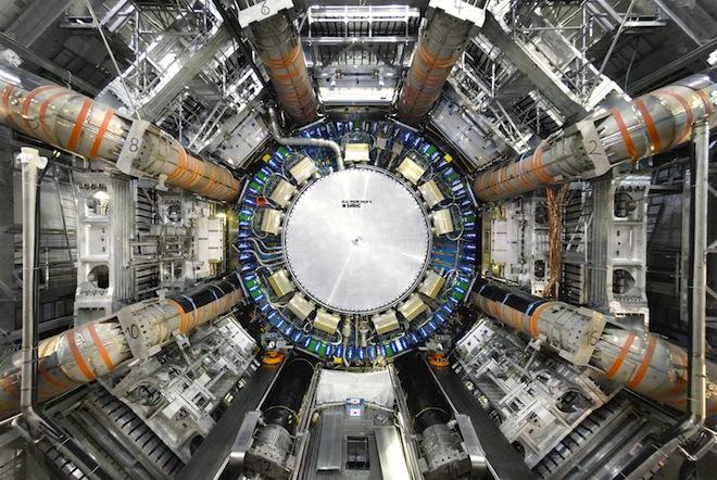 Детекторът ATLAS в ЦЕРН. Снимка: Claudia Marcelloni/ATLAS/CERN