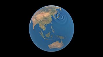 Сателитът GOCE на ESA е първия уред в орбита, който е успял да регистрира звук от сеизмичен феномен. Виж видео долу. Изображение: ESA