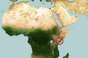 Рядката находка е направена на кенийския остров Манда