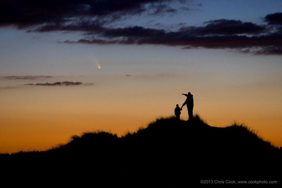 Панстарс видяна от Масачусетс, САЩ. Снимка: Chris Cook