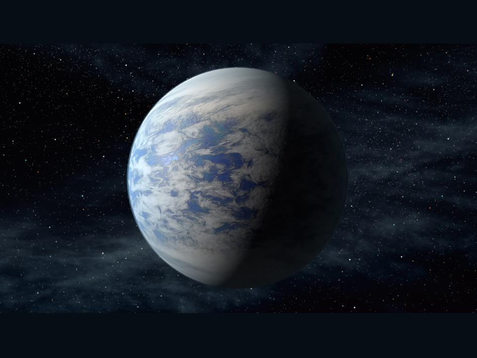 Планетата Kepler-69c (кликни за по-голяма версия). Източник: NASA Ames/JPL-Caltech