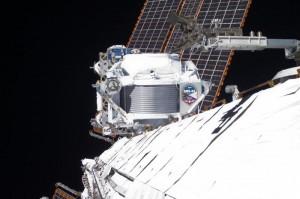 Апаратът AMS на Международната космическа станция. Снимка: NASA