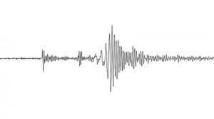 Сеизмограма на земетресение с магнитуд 5.0. Изображение: Dave Schumaker