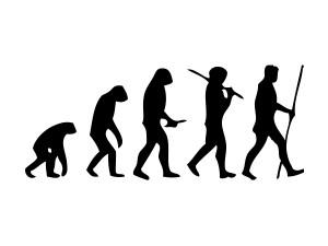 Учените подлагат на съмнение традиционната хипотеза, според която нашите предшественици е трябвало да напуснат дървесния си хабитат и да проходят на два крака заради промяната в климата. Илюстрация: M. Garde