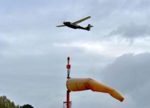 Задвижваният с течен водород Ion Tiger завършва рекордния си полет от 48 часа и 1 минута. Снимка: U.S. Naval Research Laborator