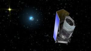 "Художествена концепция за телескопа ""Евклид"". Изображение: ESA/C. Carreau"