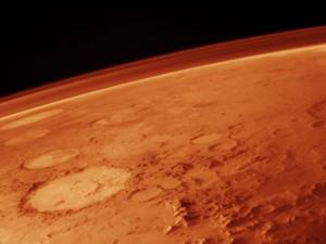 """Марсианският кислород може да е бил резултат от химическото """"разделяне"""" на водата, смятат учените. Снимка: NASA"""