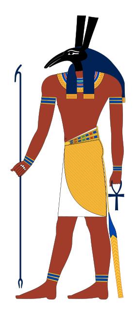 Хиксосите са се кланяли на бог Сотех, отговарящ на египетския Сет (на илюстрацията) - бог на пустинята, бурите, хаоса и мрака. Изображение: Jeff Dahl (CC BY-SA 3.0)