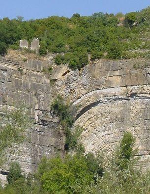 Геологичен разлом във Франция, снимка: Xienne