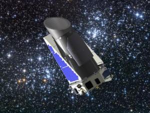 "Телескопът ""Кеплер"" - художествена концепция. Изображение: Dana Berry NASA/Kepler Mission"