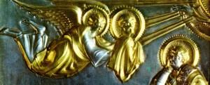 Златен олтар от 825 г., демонстриращ уменията на древните творци. Снимка: American Chemical Society