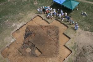 Мястото на разкопките на древната европейска крепост. Снимка: University of Michigan (CC BY 2.0)