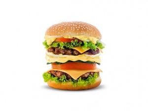 Бургери с подобни размери с месо от стволови клетки няма скоро да станат масово достъпни. Изображение: Boy.pockets (CC BY 3.0)