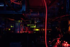 Светлинен експеримент, проведен от екипа учени от Дармщат. Снимка: Katrin Binner