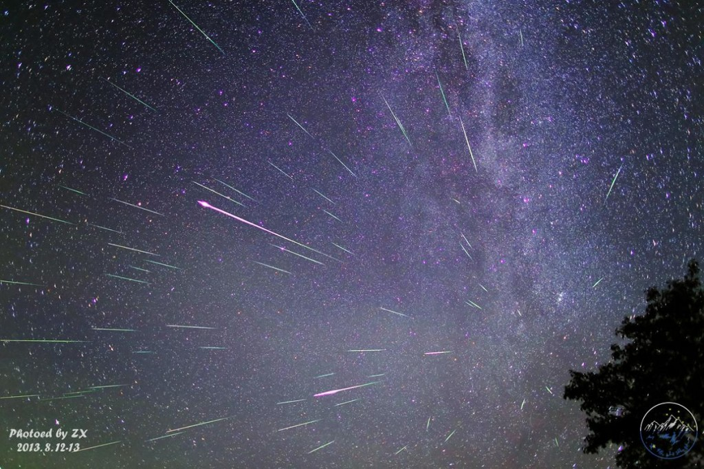 Снимка на феномена, направена в Китай. Изображение: Xiang Zhan