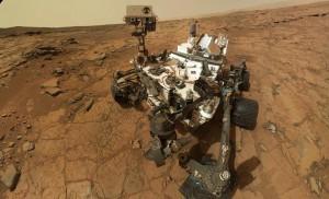 Автопортрет на роувъра Кюриосити на Марс. Снимка: NASA/JPL-Caltech/Malin Space Science Systems