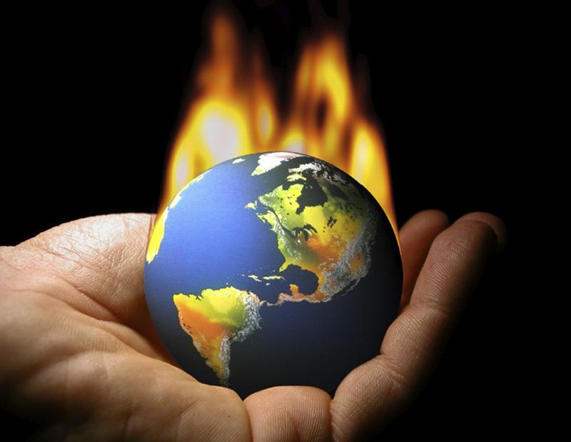 Докладът на IPCC посочва човека като причинител на затоплянето с 95-процентна сигурност. Снимка: Creative Commons