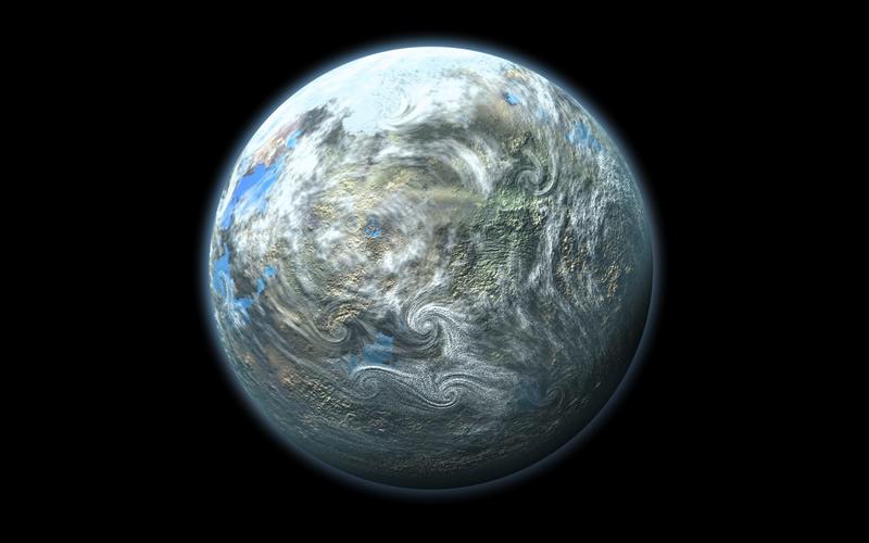Само в нашата галактика има десетки милиарди потенциално обитаеми светове, сочи изследването. Илюстрация: Lynette Cook/NASA