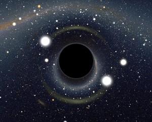 Илюстрация на черна дупка. Автор: Alain Riazuelo/NASA