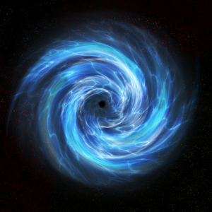 Илюстрация на червейна дупка. Автор: Xolarix (CC BY-NC-ND 3.0)
