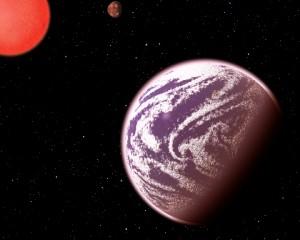 Илюстрация на планетата KOI-314c. Автор: C. Pulliam & D. Aguilar (CfA)