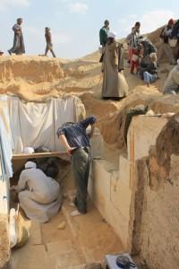 Разкопките на гробницата на Сенебкай. Снимка: University of Pennsylvania