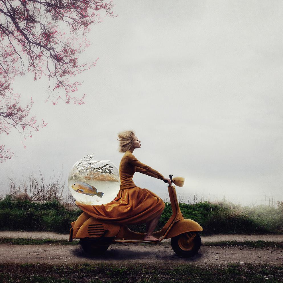Авторката на тази снимка искала да създаде история с отворен край, която да може да се интерпретира свободно от всеки. Снимка: © Kylli Sparre, Estonia, Winer, Enhanced, Open Competition, 2014 Sony World Photography Awards