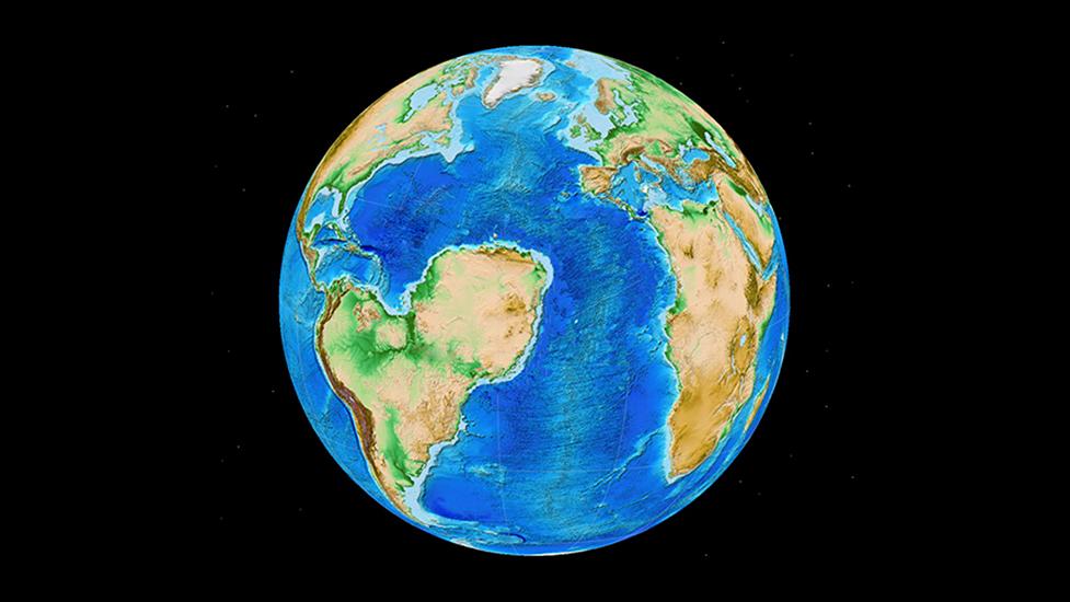 Според геолозите разкъсването на древния континент Гондвана е можело да придаде на Южна Америка и Африка доста по-различна форма. Изображение: Sascha Brune / Christian Heine