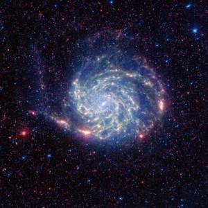 През 30-те години на 20 век учените открили, че в галактиките трябва да има невидима материя. Снимка: NASA
