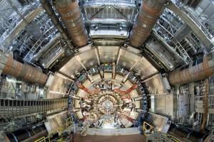 Детекторът ATLAS в Големия адронен колайдер. Снимка: CERN