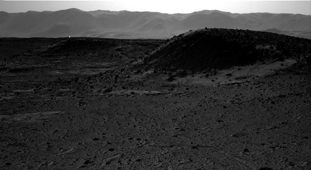 Яркото петно се вижда горе и вляво. Снимка: NASA/JPL-Caltech