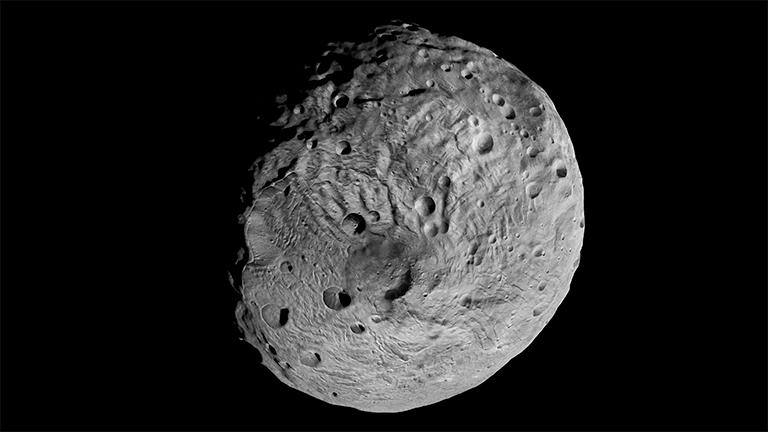 Астероидът Веста. Снимка: NASA/JPL-Caltech/UCLA/MPS/DLR/IDA