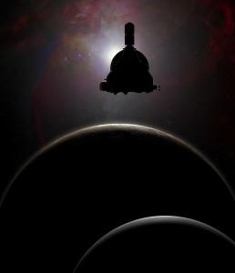 Сондата New Horizons лети към системата на Плутон от близо 9 години и половина. Илюстрация: НАСА