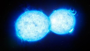 "Астрономи откриха уникална двойка ""целуващи"" се звезди"
