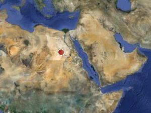 Локацията на обекта Сединга в Судан. Изображение: Google maps