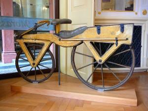 Изобретението на Карл Фрайхер фон Драйс от 19-и век е в основата на разработката на колелото Fliz. Снимка: Gun Powder Ma