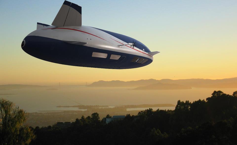 Aeroscraft. Снимка: Worldwide Aeros Corporation