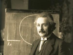 Алберт Айнщайн по време на лекция във Виена (1921г). Снимка: Ferdinand Schmutzer