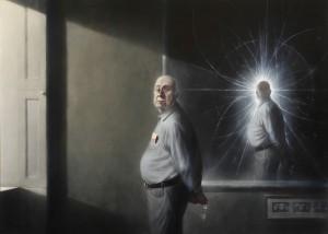 Портрет на Питър Хигс. Автор: Ken Currie