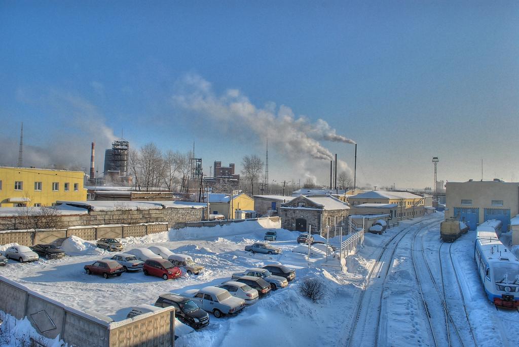 Дзержинск е един от центровете на химическата индустрия в Русия. Снимка: Blacksmith Institute