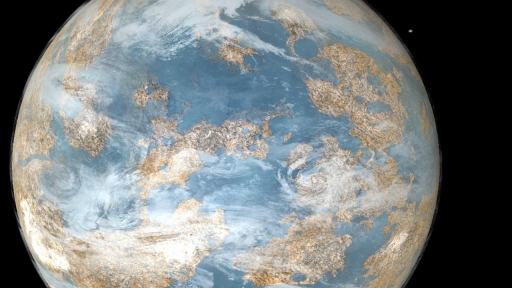 Илюстрация на подобна на Земята екзопланета. Изображение: NASA/Kepler mission/Dana Berry